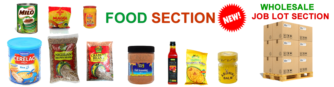 New packaged tropical food block and Job lot purchase  coming soon